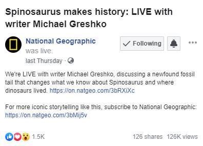 How to Go Live on Facebook natgeo