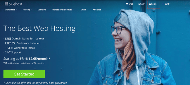 Bluehost best web hosting provider