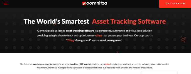 oomnitza Best Digital Asset Management Software