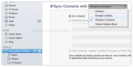 how to delete contacts in iphone 5s