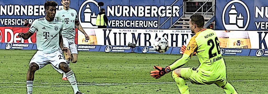 Coman's last-gasp chance in Nürnberg