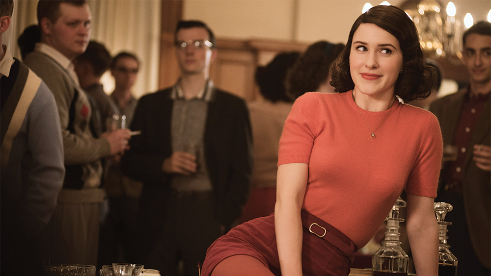 The Marvelous Mrs. Maisel from Amazon.