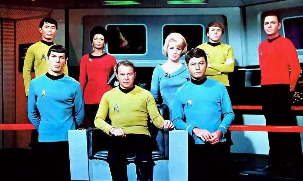 """One of science fiction's pioneers """"Star Trek"""" from Paramount Studios."""
