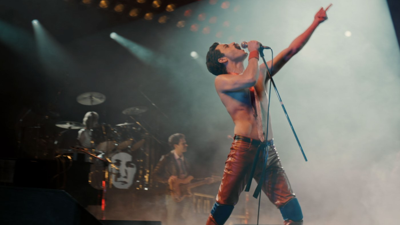 Rami Malek snags a Golden Globe for his role in Bohemian Rhapsody