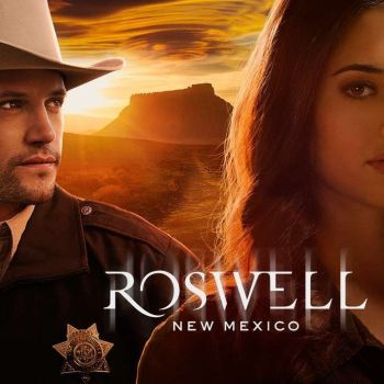 "Nathan Parsons and Jeanine Mason star in the reboot: ""Roswell, New Mexico"""