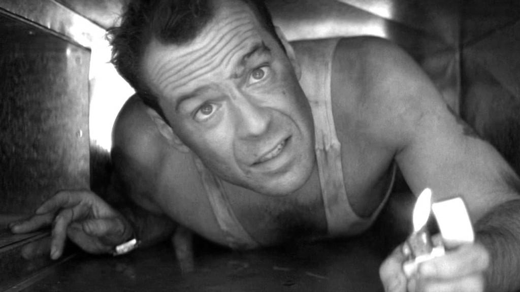 Celebrate Bruce Willis on his birthday by watching Die Hard.