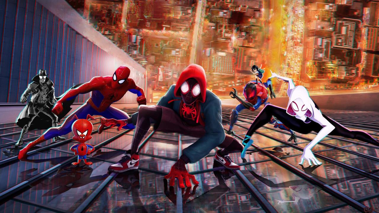 """""""Spider-Man: Into the Spider-Verse"""" via Netflix"""