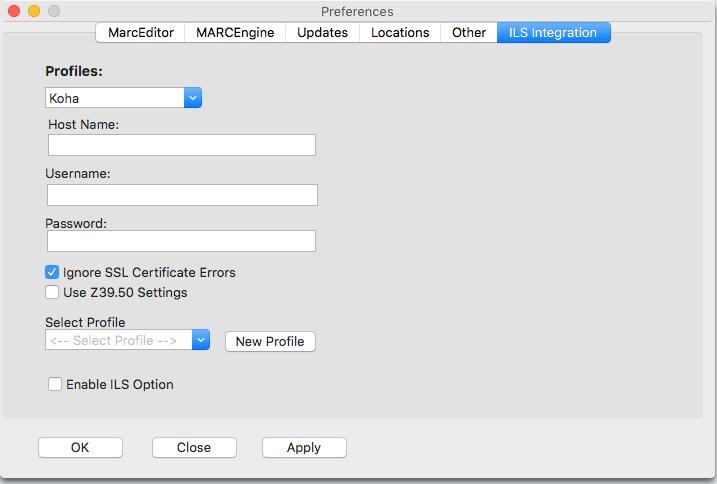 ILS Mac Integrations