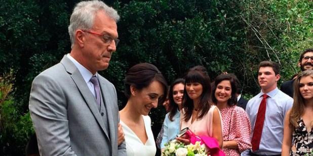 Casamento Pedro Bial e Maria Prata