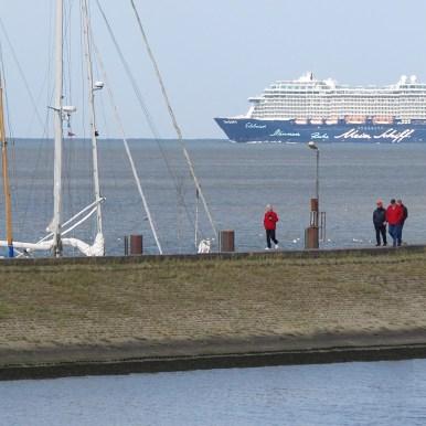 Hafen Horumersiel Mole Mein Schiff 4