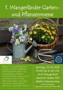 Wangerland Gartenmesse Pflanzenausstellung