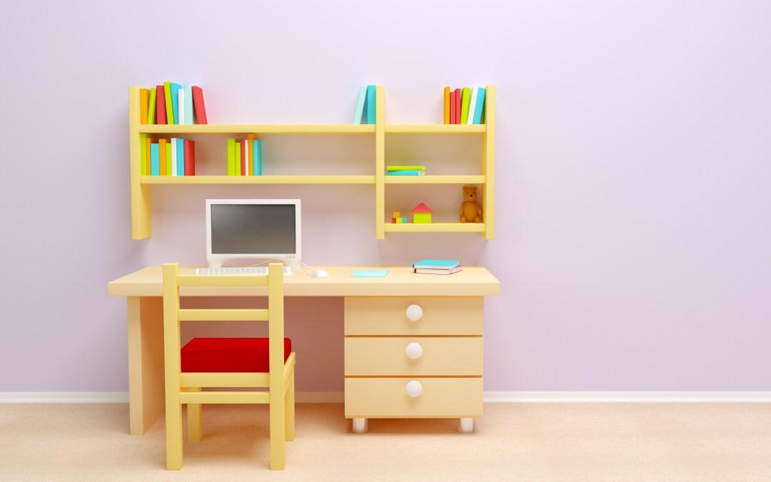 6 tips para crear el mejor espacio de estudio para tus hijos