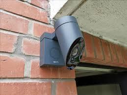 caméra de surveillance - maison intelligente