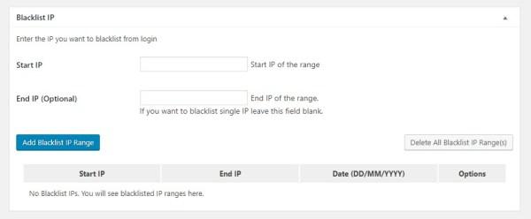 WordPress管理画面へのログイン拒否を行うブラックリストIP設定