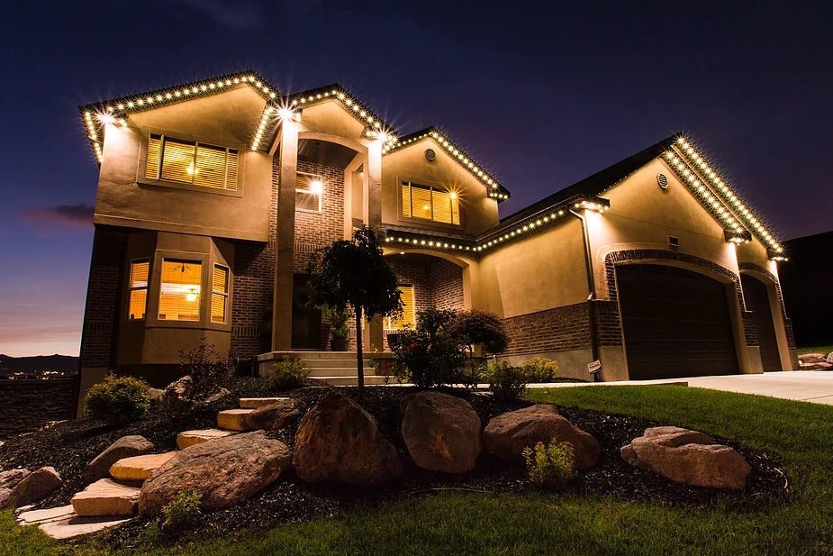 permanent led soffit light systems