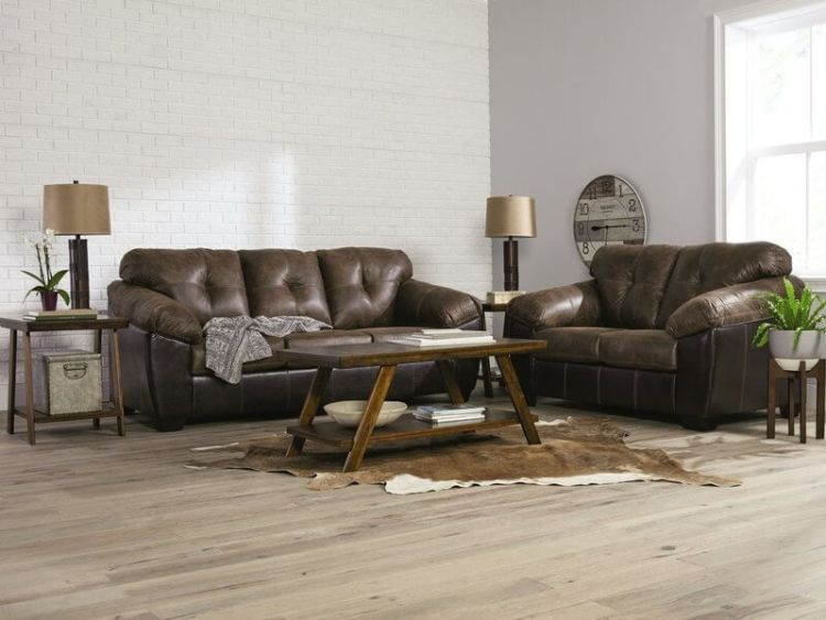 Ashley Gregale Sofa and Loveseat