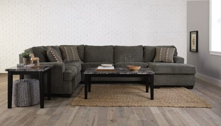 Ashley Loric-Smoke 3-Piece Sectional