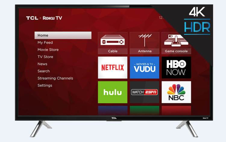 "TCL 65"" UHD TV"