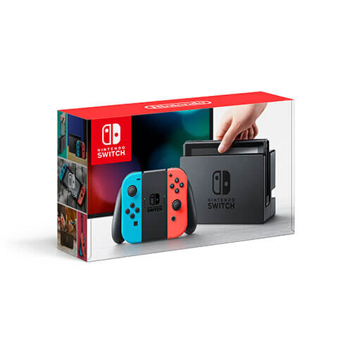 Rent Nintendo Switch™ Bundle with Neon Joy-Con