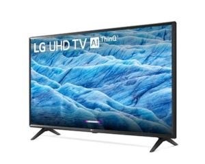 LG UHD 4K smart TV