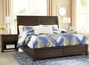 Darbry storage bed