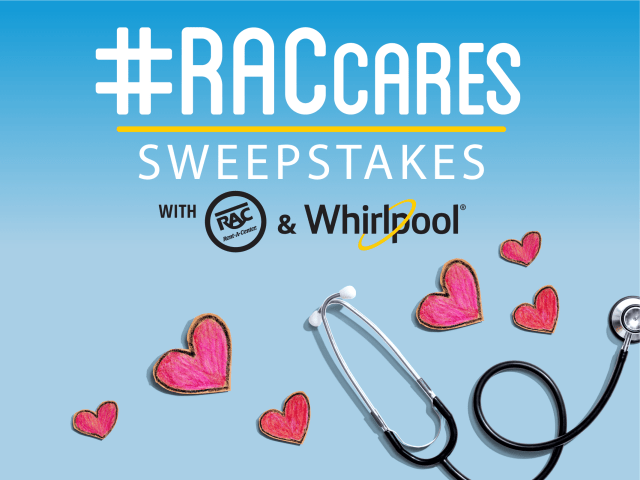 #RACCares Sweepstakes with Whirlpool