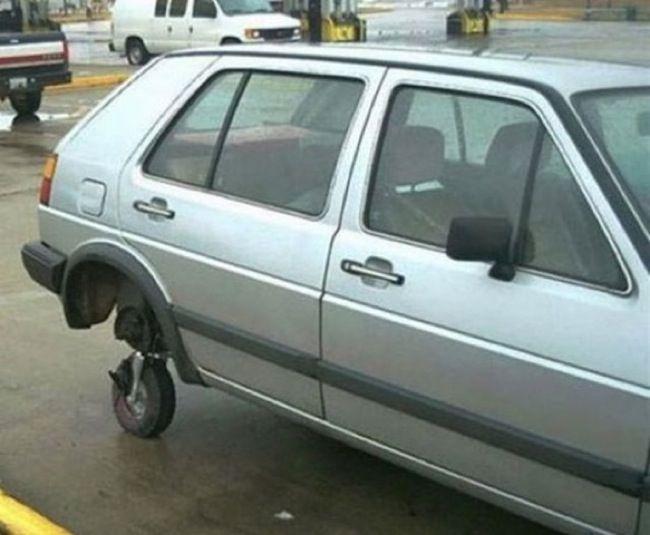 rueda carro coche