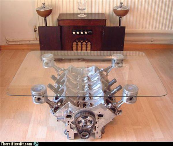 mesa pistones mecanica