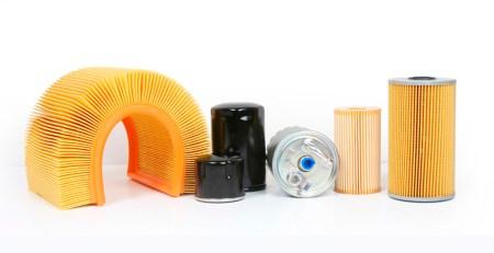 filtros del coche