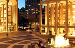 Upper West Side view of Lincoln Center