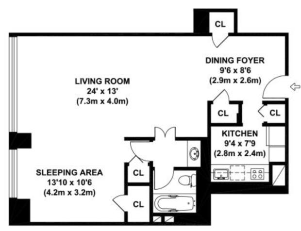 junior 1 layout apartment nyc