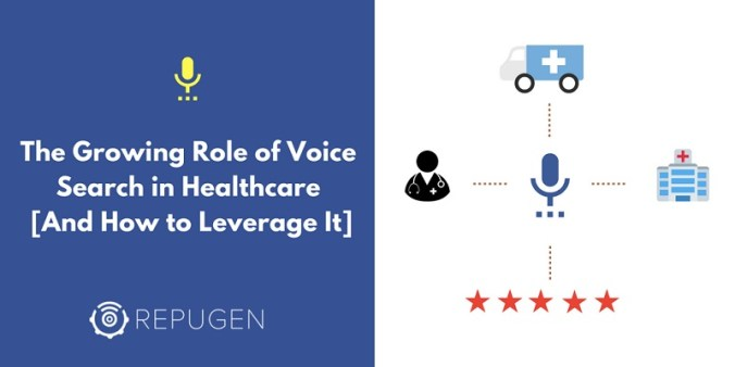 The growing role of voice search in healthcare
