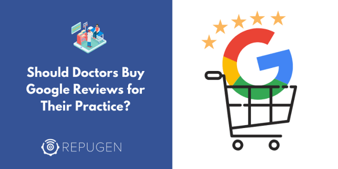 Should Doctors buy Google Reviews?