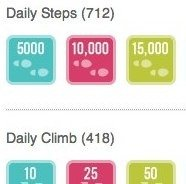 Badges you can earn on Fitbit.com