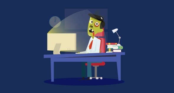 office-zombie
