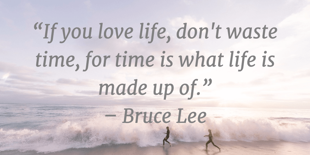 Time Management Quotes Bruce Lee. U201c