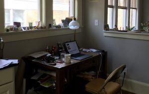 Mark's desk