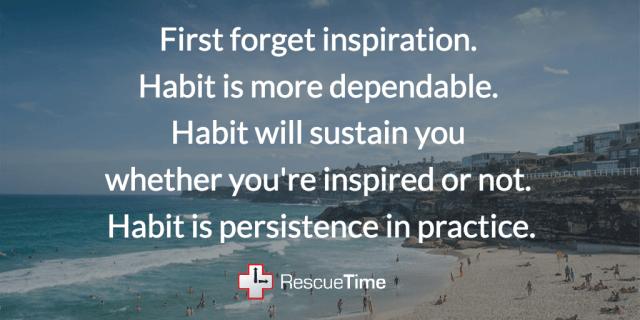 Octavia Butler habit quote