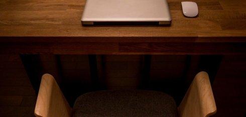 Procrastination empty chair