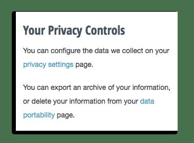 RescueTime Privacy Controls