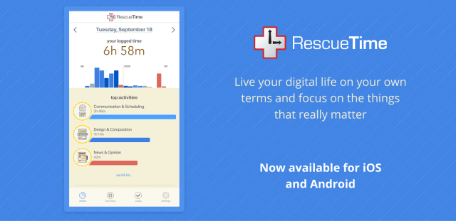 RescueTime Android Blog Hero Image