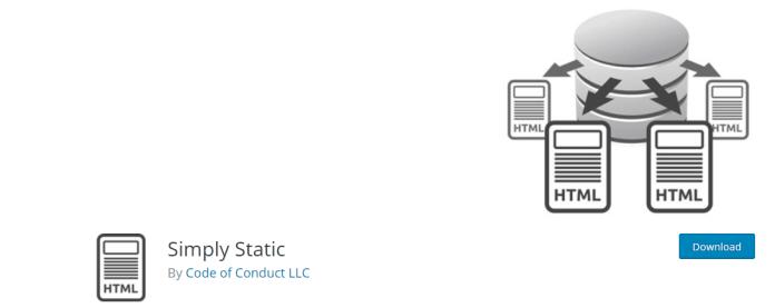 convert wordpress website to html