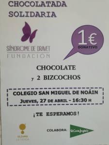Chocolatada Solidaria Noain 2017