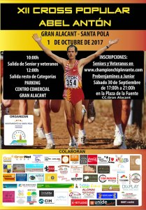 XII Cross Popular Abel Antón - Gran Alacant 2017