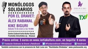 Monólogos solidarios por el Dravet - Alsasúa 2018
