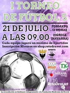 I Torneo Solidario de Fútbol 5 de Ziordia