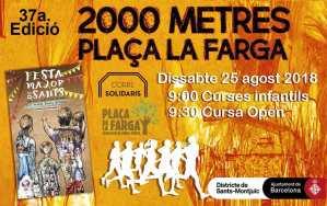 Carrera Solidaria La Farga 2018 - Barcelona