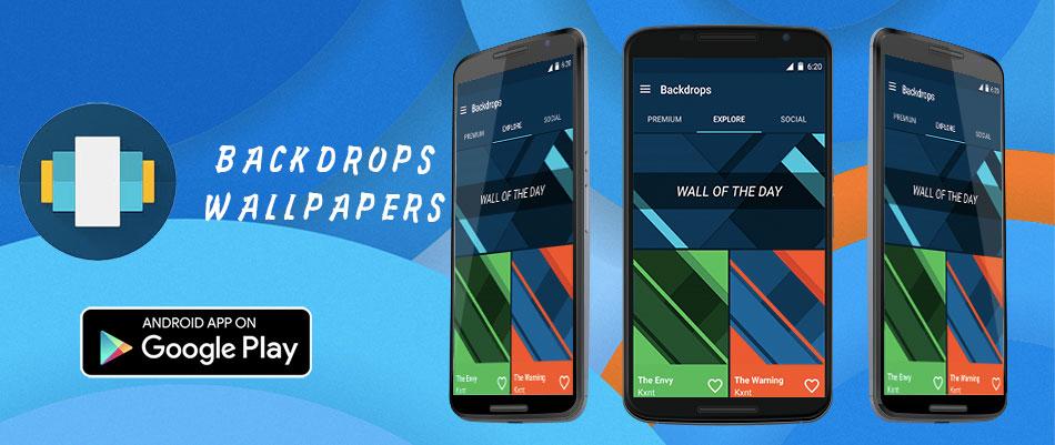 backdrops wallpapers - 15 melhores aplicações android grátis