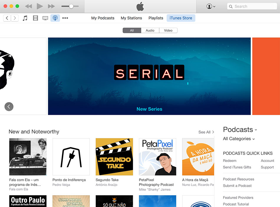 iTunes Store - Podcasts