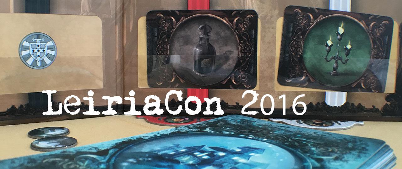 LeiriaCon 2016 - jogos de tabuleiro